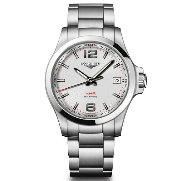 Longines Conquest V.H.P. 41mm Stainless Steel