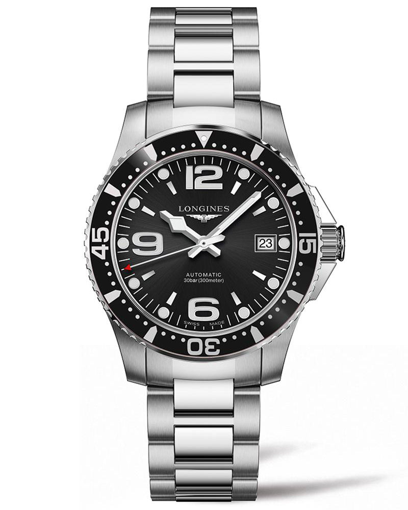 HydroConquest 39mm Stainless Steel Diving Watch