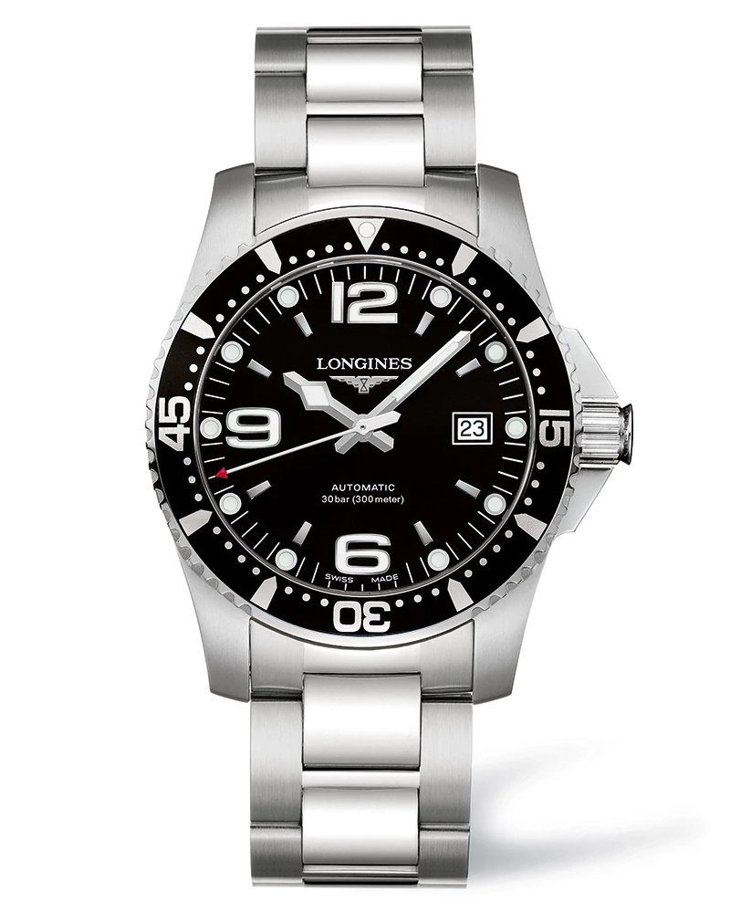 HydroConquest 41mm Stainless Steel Diving Watch