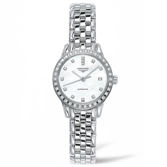Longines Flagship 26mm Stainless Steel with Diamonds