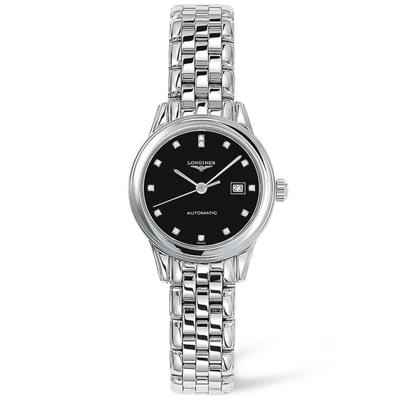 Longines Flagship 30mm Stainless Steel with Diamonds
