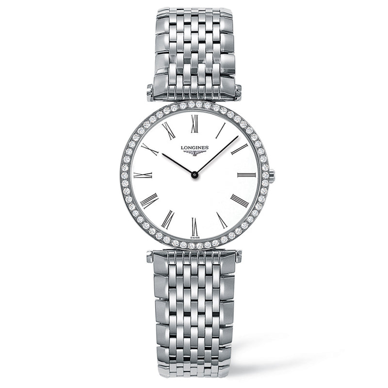 La Grande Classique de Longines 29mm Stainless Steel with Diamonds