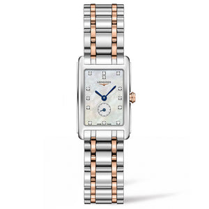 Longines DolceVita 20mm Stainless Steel/Gold 18K with Diamonds