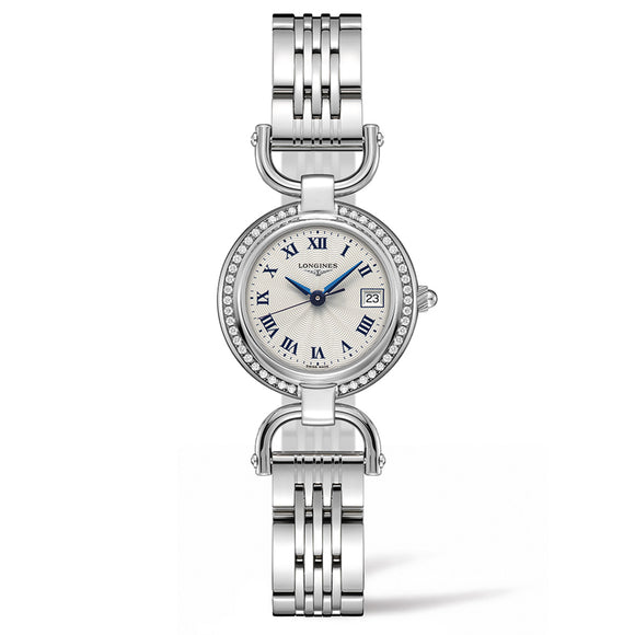 Equestrian Collection Etrier 26mm Stainless Steel with Diamonds