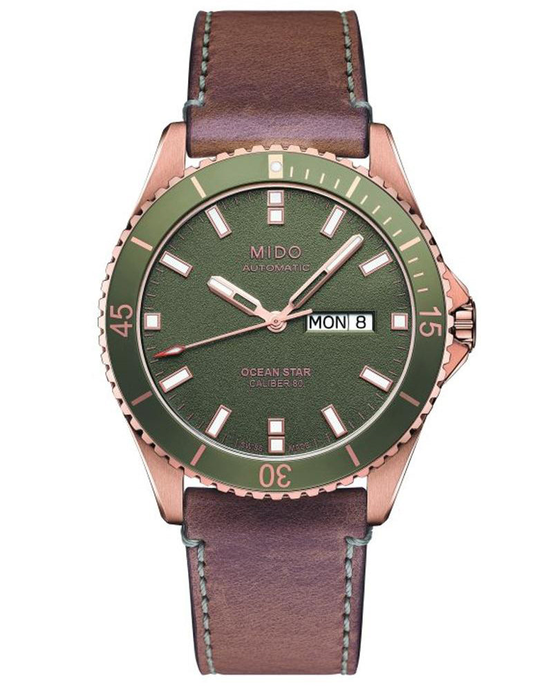 Ocean Star Automatic Green Dial
