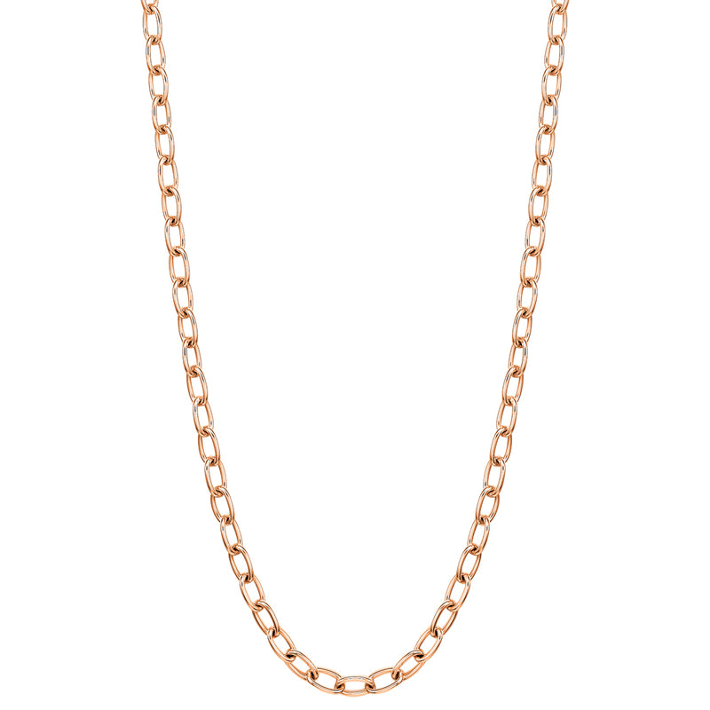 "24"" necklace in 18K rose gold"