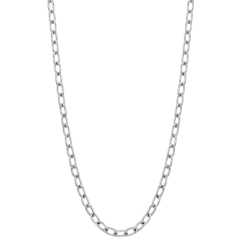 "24"" necklace in 18K white gold"