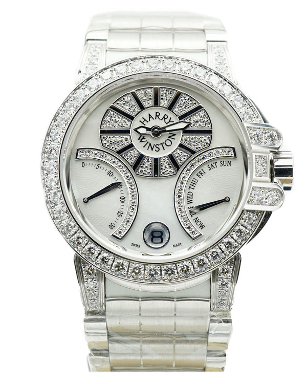 Ocean Lady Bi-Retrograde 36mm White Gold Watch