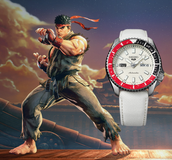 Seiko 5 RYU Street Fighter V Limited Edition SRPF19K1