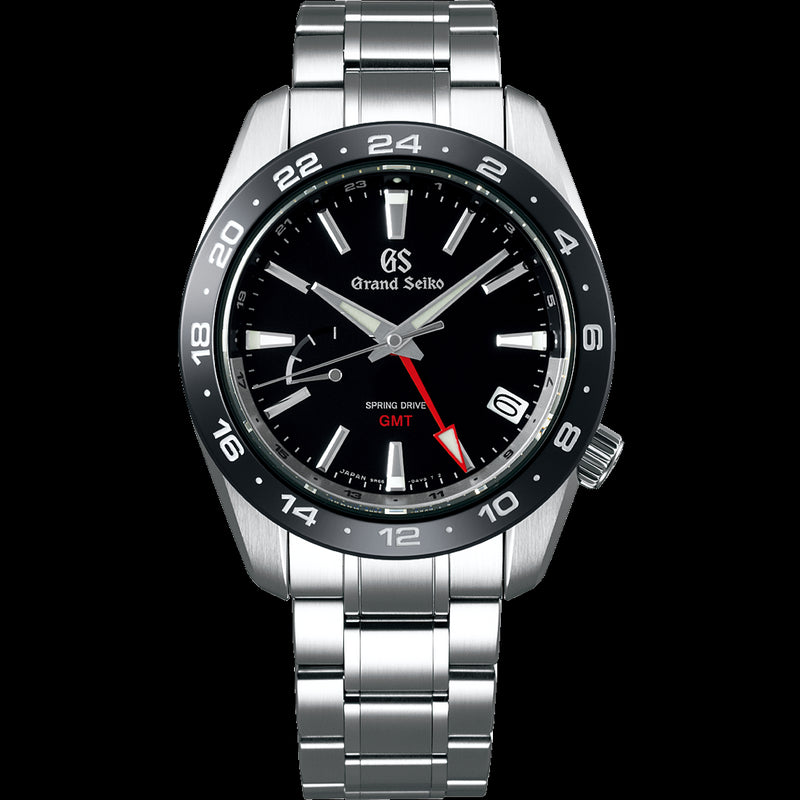 SBGE253 Grand Seiko Spring Drive GMT 40mm Black Dial Sport Collection