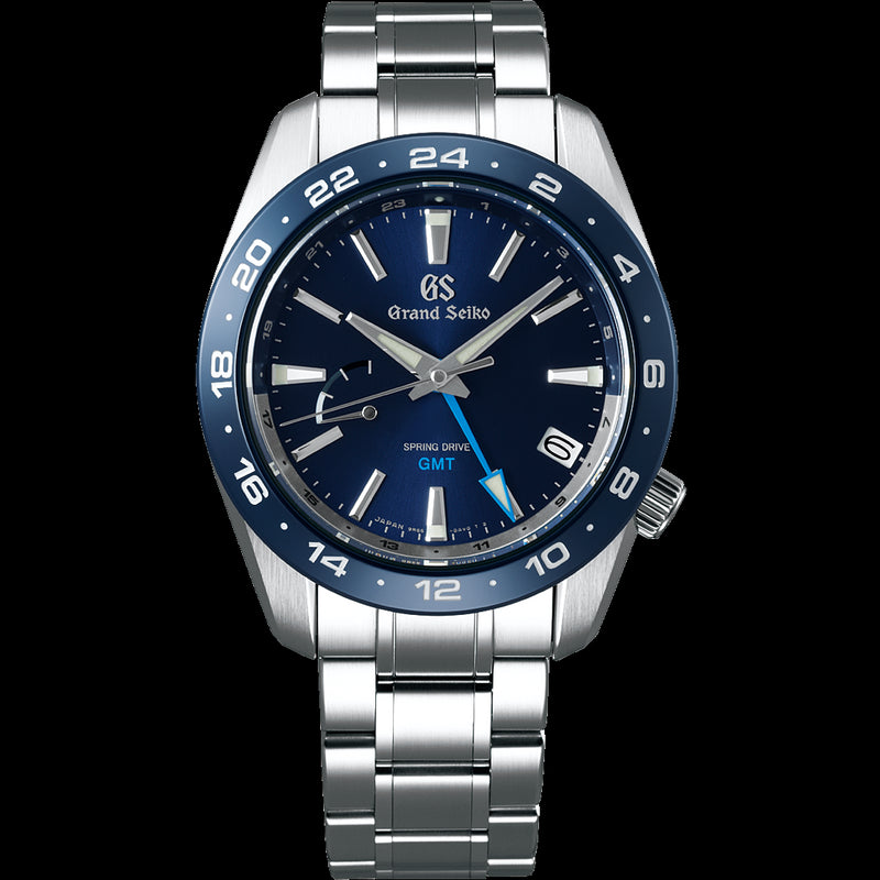 SBGE255 Grand Seiko Spring Drive GMT 40.5mm Blue Dial Sport Collection