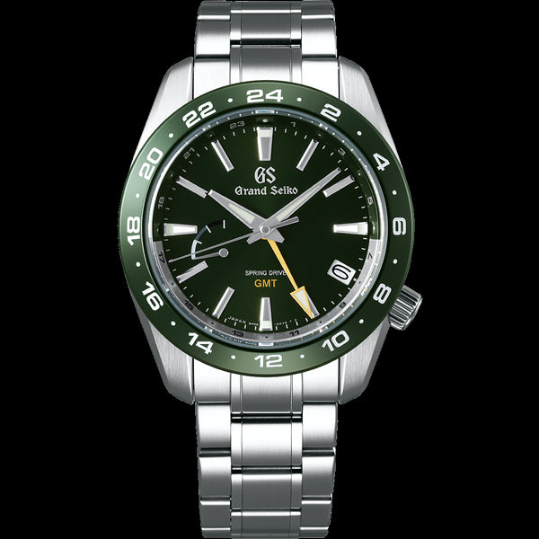 SBGE257 Grand Seiko Spring Drive GMT 40.5mm Green Dial Sport Collection