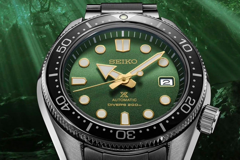 Seiko SPB105 Prospex Mini Marine Master 200m 44mm Dive Watch Carat & Co. Authorized Retailer New York