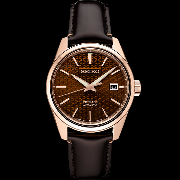 Seiko Presage Sharp Edge Series SPB170 Brown Dial
