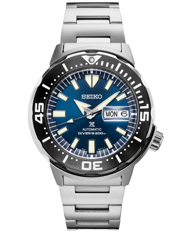 Prospex Monster Automatic SRPD25 Blue Dial