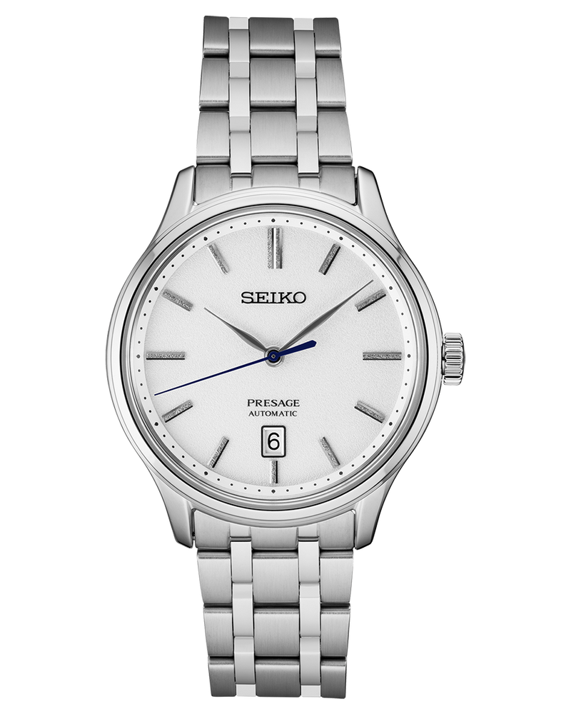 Presage Automatic Watch SRPD39 White Dial 41mm with Sapphire Crystal