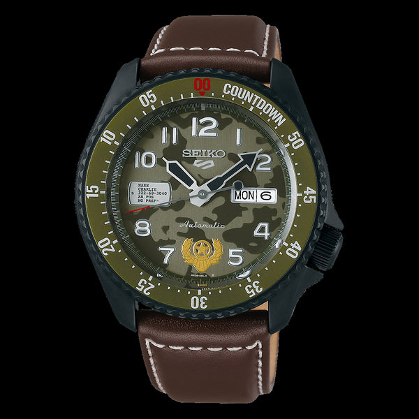 Seiko 5 GUILE Street Fighter V Limited Edition SRPF21K1 preorder