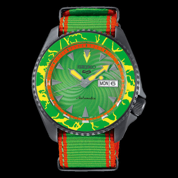 Seiko 5 BLANKA Street Fighter V Limited Edition SRPF23K1 preorder