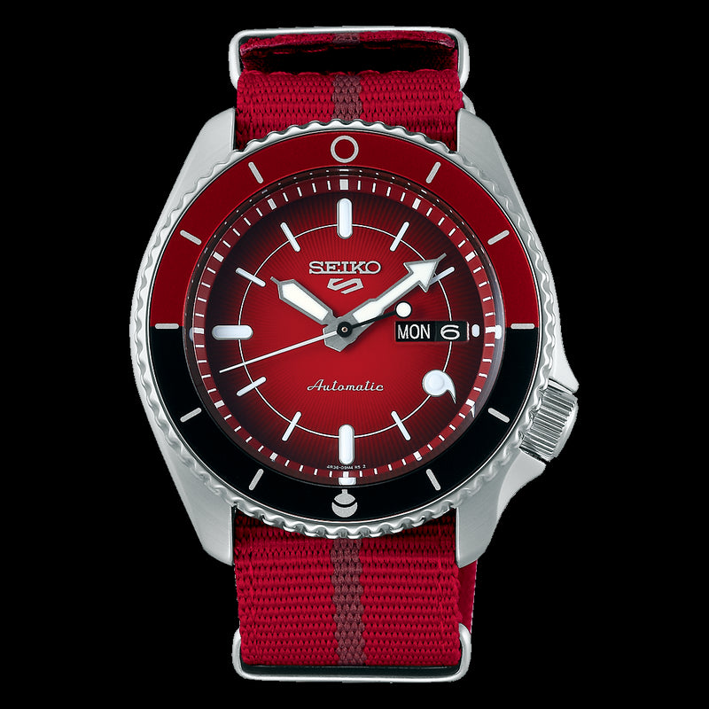 Seiko 5 SARADA UCHIHA Limited Edition SRPF67K1 Watch