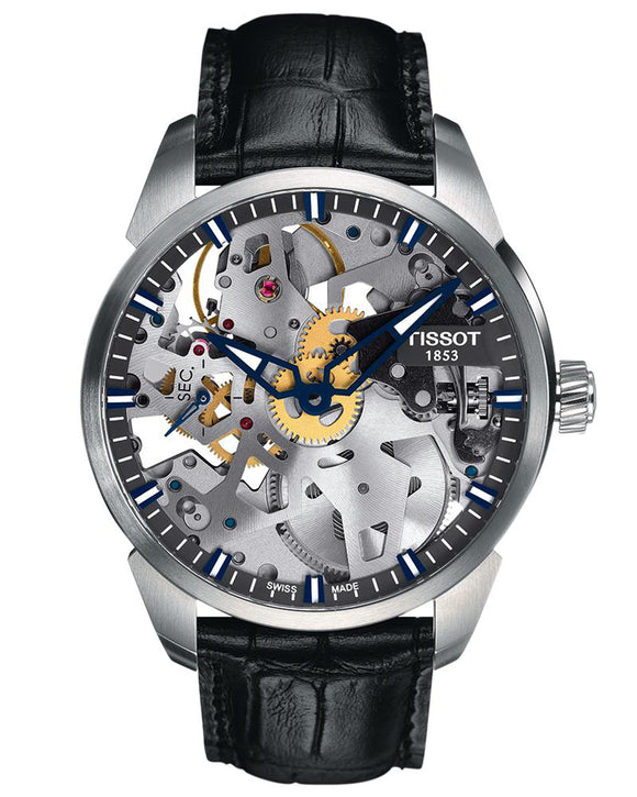 Tissot Squelette Mechanical Skeleton Complication