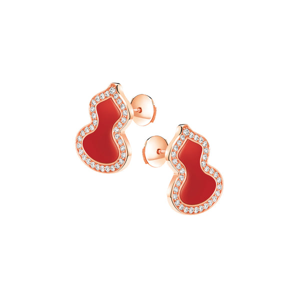 Qeelin Wulu Ear Studs