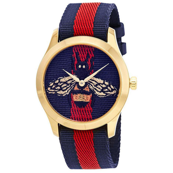 Gucci G-Timeless Blue and Red Bee YA1264061