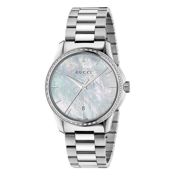 Gucci G-Timeless Mother of Pearl YA126444