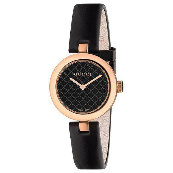 Gucci Diamantissima Black Quartz YA141501