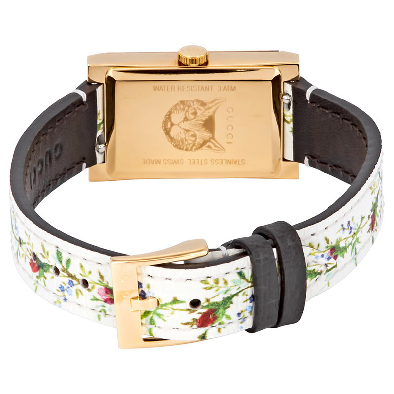 Gucci G-Frame Mother of Pearl Floral YA147407
