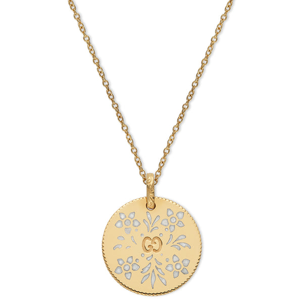 Icon Blooms Yellow Gold Necklace