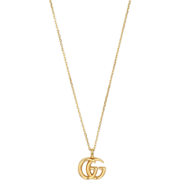 GG Running Yellow Gold Necklace