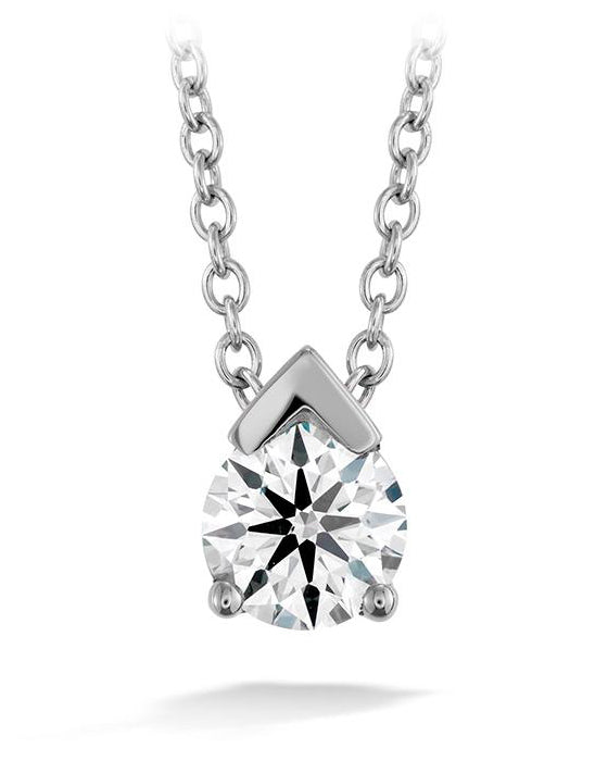 Hearts on Fire Aerial Single Diamond Pendant