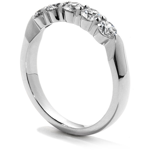 Five-Stone Wedding Band