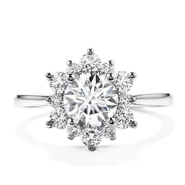 Delight Lady Di Diamond Engagement Ring (Setting Only)