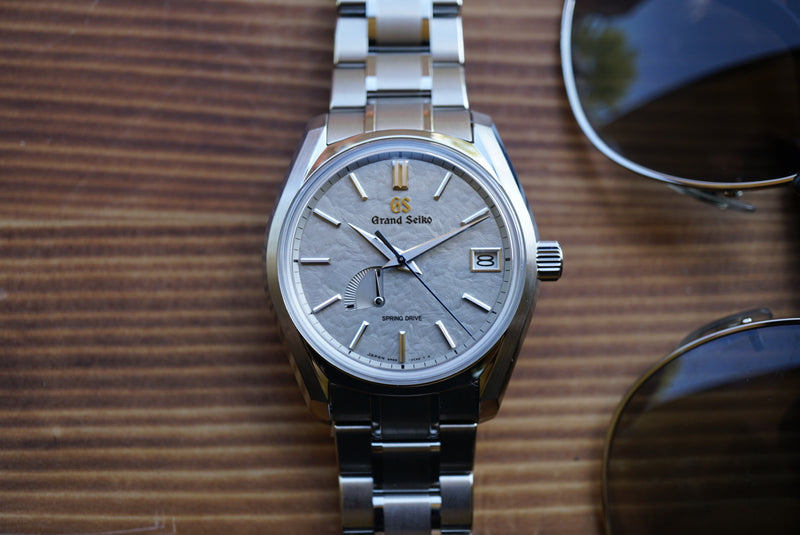 Grand Seiko SBGA415 Winter Taisetsu USA Special Edition Spring Drive Carat & Co.