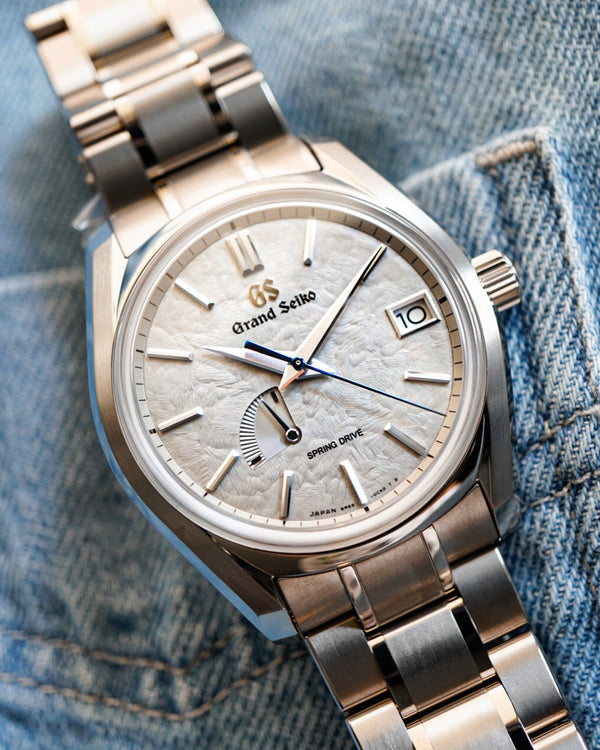 SBGA415 Grand Seiko Taisetsu Winter USA Exclusive Spring Drive Titanium