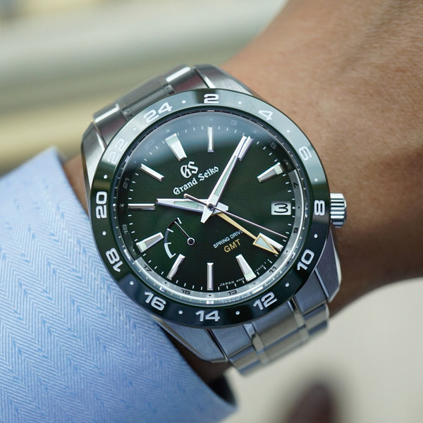 Grand Seiko SBGE257 40.5mm Sport Collection Spring Drive GMT 2020 Green Dial