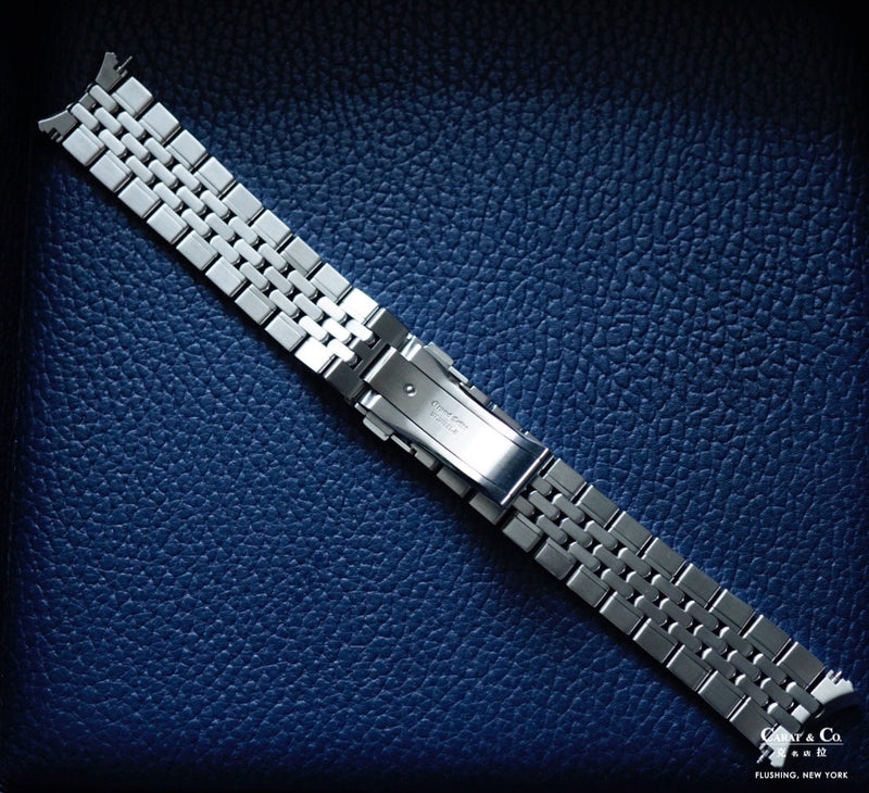 Grand Seiko A00A111J0 A00A111J9 Beads of Rice Stainless Steel 19mm Bracelet back