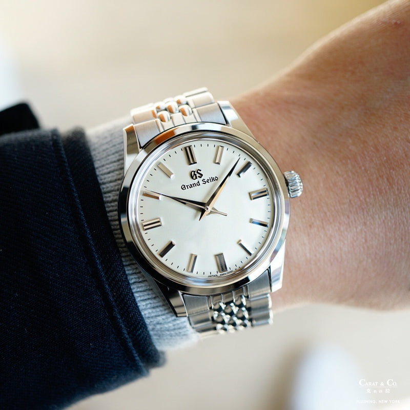 Grand Seiko SBGW231 with A00A111J0 A00A111J9 Beads of Rice Stainless Steel 19mm Bracelet