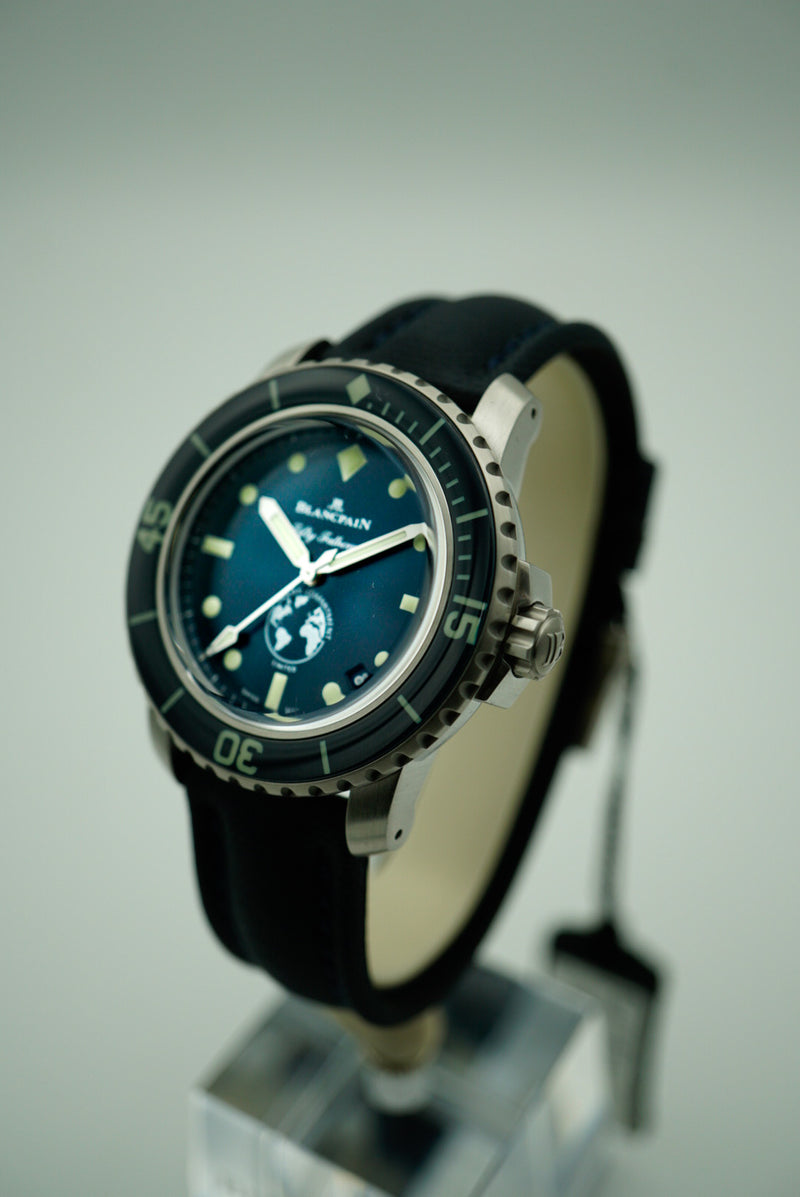 Blancpain Fifty Fathoms Ocean Commitment III Limited Edition 5008-11B40-52A