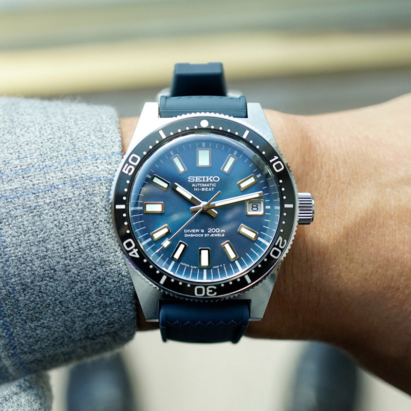 Seiko Prospex SLA037 The 1965 Professional Diver's Re-Creation Limited Edition wrist shot