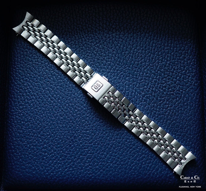 Grand Seiko A00A111J0 A00A111J9 Beads of Rice Stainless Steel 19mm Bracelet