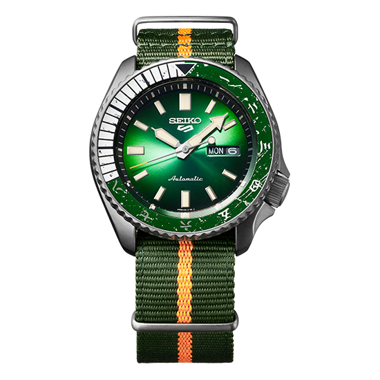Seiko 5 ROCK LEE Limited Edition SRPF73K1 / SBSA095