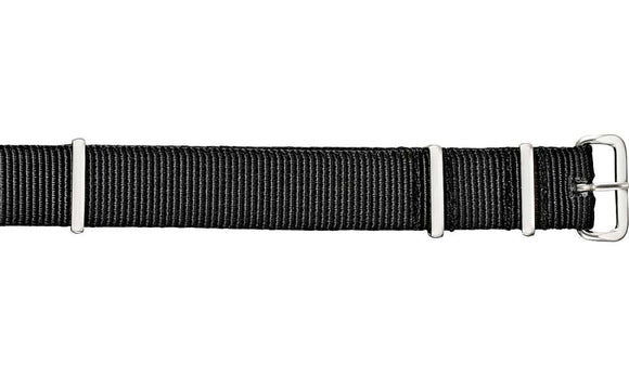 Military NATO Strap Black Watch Strap