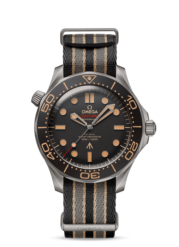 Omega Seamaster Diver 300M Master Chronometer 007 Edition No time to Die 42mm Titanium 21092422001001 NATO