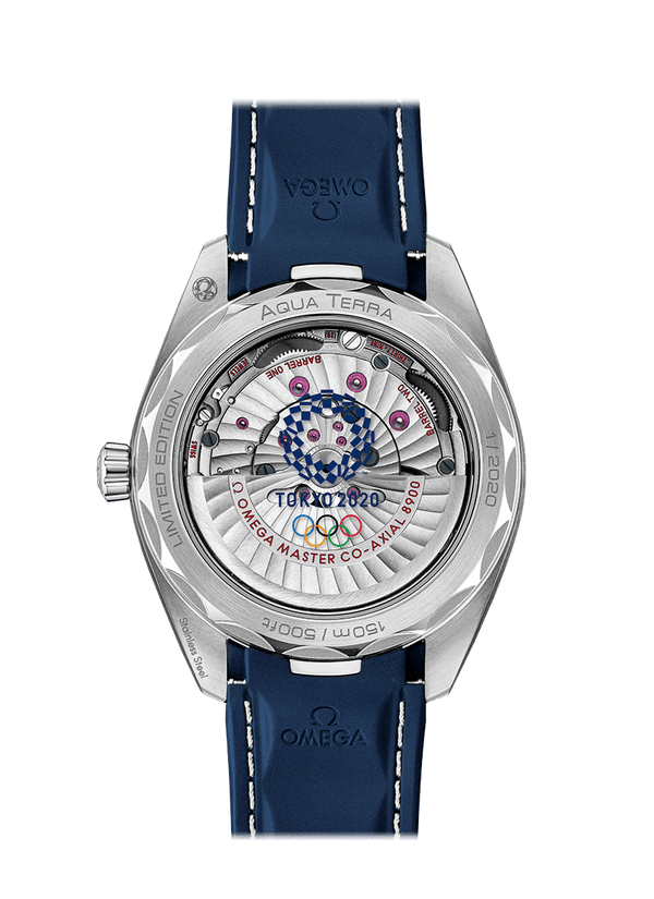 OMEGA Seamaster Aqua Terra Olympic Games Tokyo 2020 Limited Edition 522.12.41.21.03.001 Carat & Co.