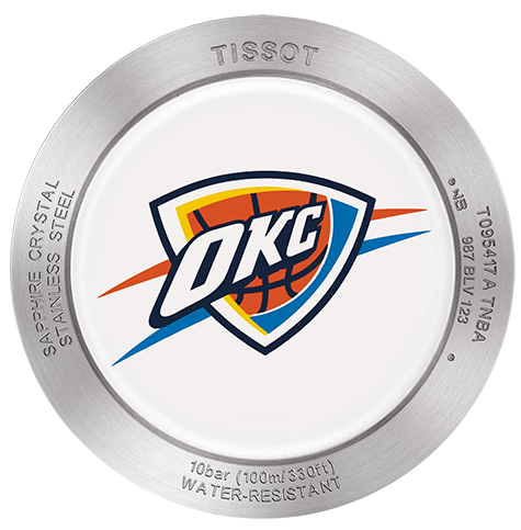 NBA Oklahoma City Thunder Quickster Chrono