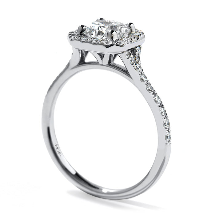 Transcend Dream Engagement Ring White Gold (Setting Only)