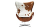 Egg Chair, Cow Hide