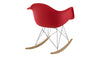 Eiffel Rocker Chair Red